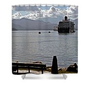 One More Ship Shower Curtain