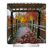 One More Stroll Shower Curtain