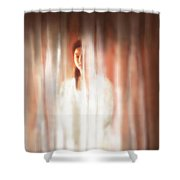 One More Time Shower Curtain