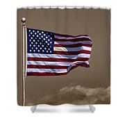 One Nation Under God Shower Curtain