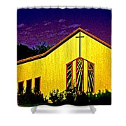 One Of Many Doors . . . Of The Lord Shower Curtain