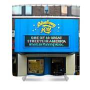 One Of Ten Great Streets In America Shower Curtain