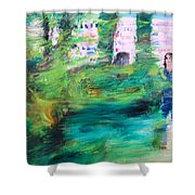 One Of These Days Shower Curtain