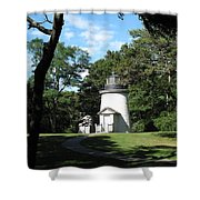 One Of Three Sisters Shower Curtain