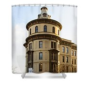 One Pacific Avenue Shower Curtain