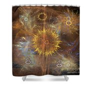 One Ring To Rule Them All - Square Version Shower Curtain