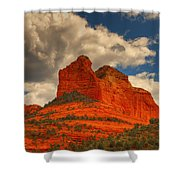 One Sedona Sunset Shower Curtain