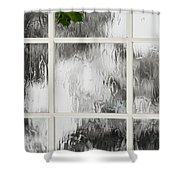 One Stormy Night Shower Curtain