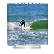 One Surfer Shower Curtain