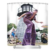One Tall Dude Shower Curtain