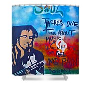 One Thing About Music Shower Curtain