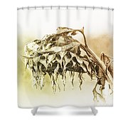 One Too Many Mornings Shower Curtain