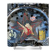 One Tough Ride Shower Curtain