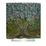 One Tree - 2 Shower Curtain