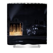 One Two Freddy's Coming For You Shower Curtain by Juli Scalzi