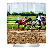 One Two Three 026mx Shower Curtain