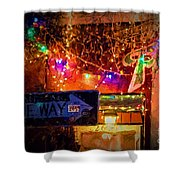 One Way Night Cafe - Nola Shower Curtain