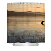 One With Nature 1 Shower Curtain