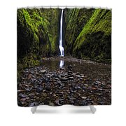 Oneonta Falls 2 Shower Curtain