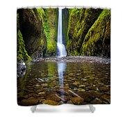 Oneonta Falls Shower Curtain