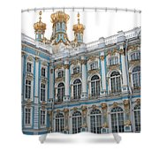 Onion Domes - Katharinen Palace - Russia Shower Curtain
