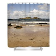 Only Clouds From Skies Shower Curtain