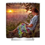 Only The Heart May Know Shower Curtain