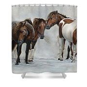 Only The Strong Survive II Shower Curtain