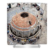 Onofrio Fountain In Dubrovnik Shower Curtain