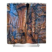 Onondaga Cave Detail Img 4270 Shower Curtain