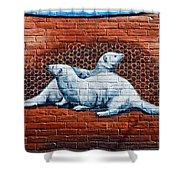 Ontario Heritage Mural 3 Shower Curtain
