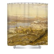 Oodypure From India Ancient Shower Curtain