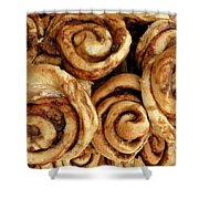 Ooey Gooey Cinnamon Buns Shower Curtain