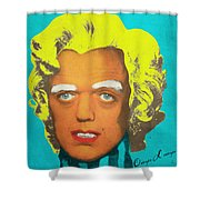 Oompa Loompa Blonde Shower Curtain