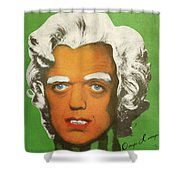 Oompa Loompa White  Shower Curtain