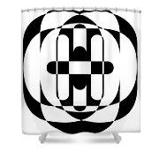Op Art 5 Shower Curtain