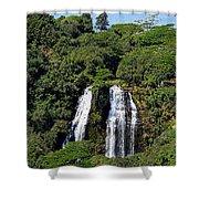 Opaekaa Falls In Kauai Shower Curtain