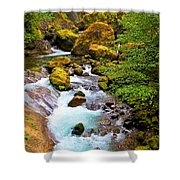 Opal Rivers Shower Curtain