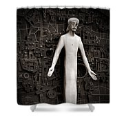 Open Arms Shower Curtain