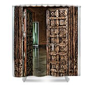 Open Door By Diana Sainz Shower Curtain
