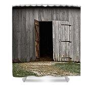 Open Doorways Shower Curtain