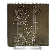Open End Ratchet Wrench Patent Shower Curtain