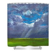 Open Field Majestic Shower Curtain by Patricia Awapara