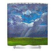 Open Field Majestic Shower Curtain
