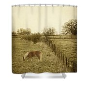 Open Fields Shower Curtain
