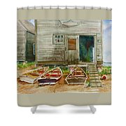 13. Yacht Club Shower Curtain
