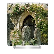 Open Paths Shower Curtain