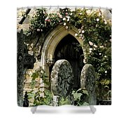 Open Paths II Shower Curtain