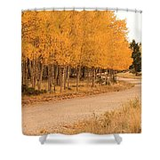 Open Road 5 Shower Curtain