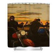 Open Road. Shower Curtain